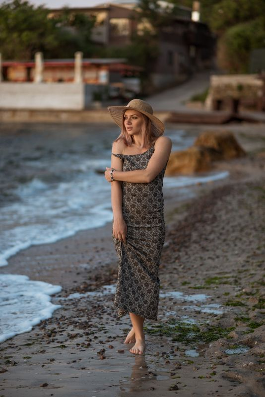 Одесса, девушка, портрет, рассвет, утро, красота, nikon, 35mm Настяphoto preview