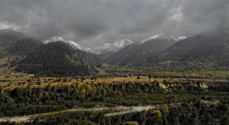 осень, горы Уходящая осеньphoto preview