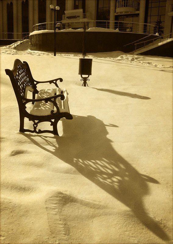 зима, тень, ***photo preview