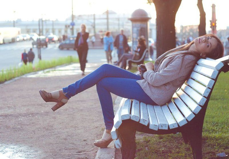 санкт-петербург,  питер, город, лето, портрет, гелиос Evening gracephoto preview