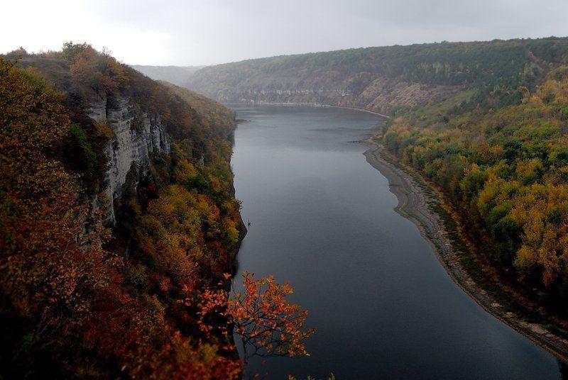 приднестровье, осень, река приднестровьеphoto preview