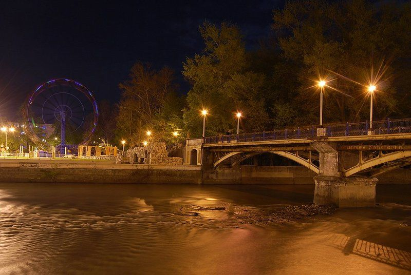 терек, владикавказ, городской пейзаж, Городской пейзажphoto preview