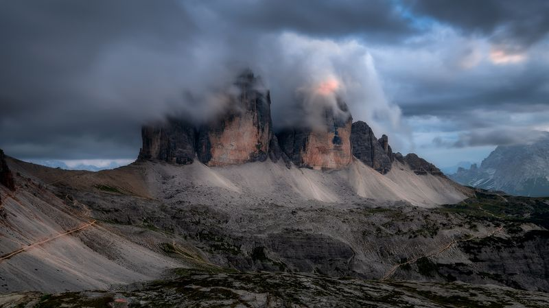 Sunset, Dolomites, Italy, Eupope, Tré Cime di Lavaredo, Hugo, Só, HugoSó, Nikon, D810 UNLIMITEDphoto preview