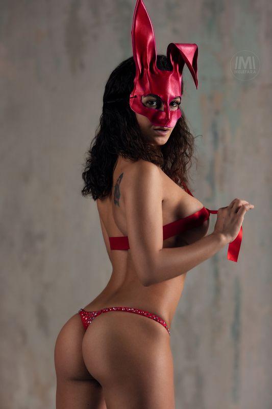 nude,эротика, красотки, erotic,beautiful Розовый кроликphoto preview