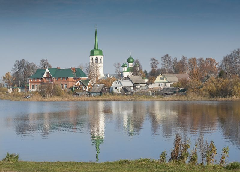 Сясь Успенская церковь на реке Сясьphoto preview