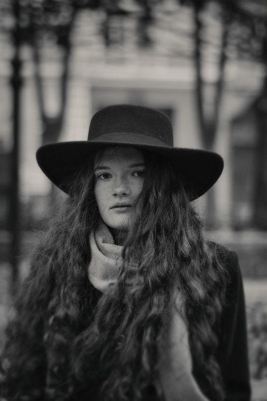 девушка, настроение, город, портрет Marinaphoto preview