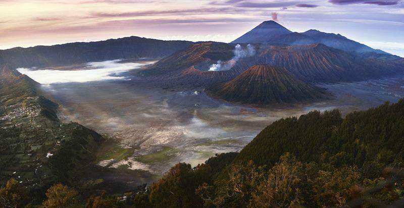 вулкан, бромо, индонезия, ява volcano Bromophoto preview