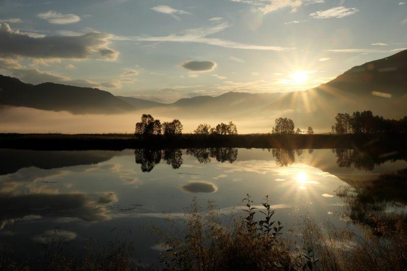 север, арктика, лофотены, north, arctic, lofotens Полярная ночь в Норвегииphoto preview