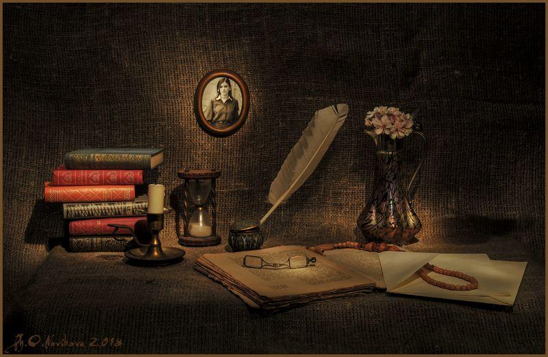 перо, рамка,цветы,кувшин,книги,песочные часы, конверт, бусы, чернильница ***photo preview