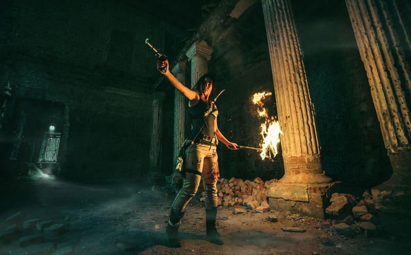 Concept of Lara Croftphoto preview