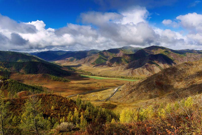 пейзаж, горы, осень, Горный Алтай , Чуйский тракт  Красоты Чуйского тракта-2photo preview