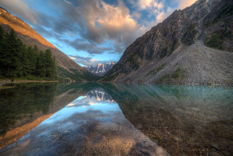 шавлинское озеро.   горный алтай. Ещё один вечер в горахphoto preview