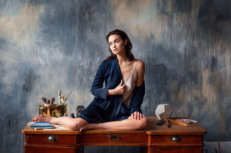 Девушка, портрет, модель Ярославаphoto preview