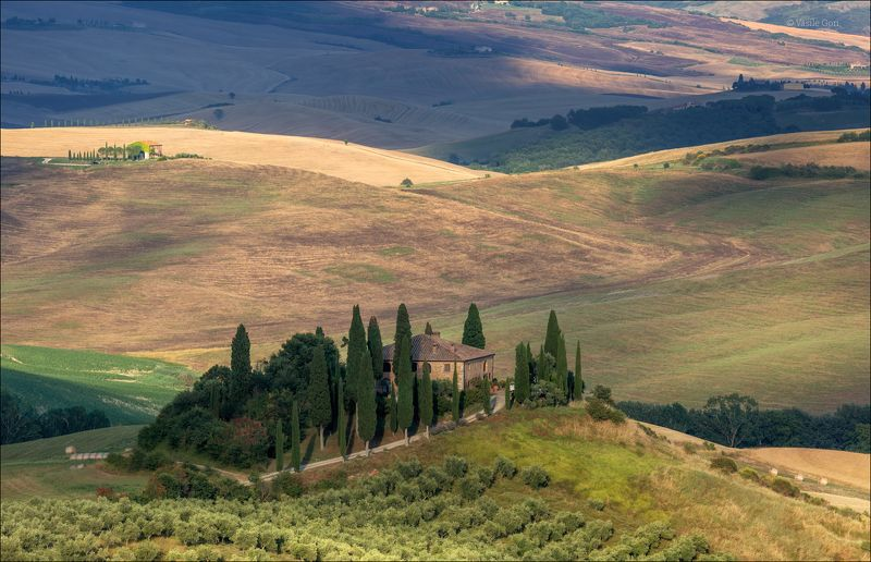 italy,san quirico d\\\\\\\'orcia,italia,свет,пейзаж,podere belvedere,италия,тоскана,вилла,toscana,лето,tuscany,cipressi \'Podere Belvedere\'photo preview
