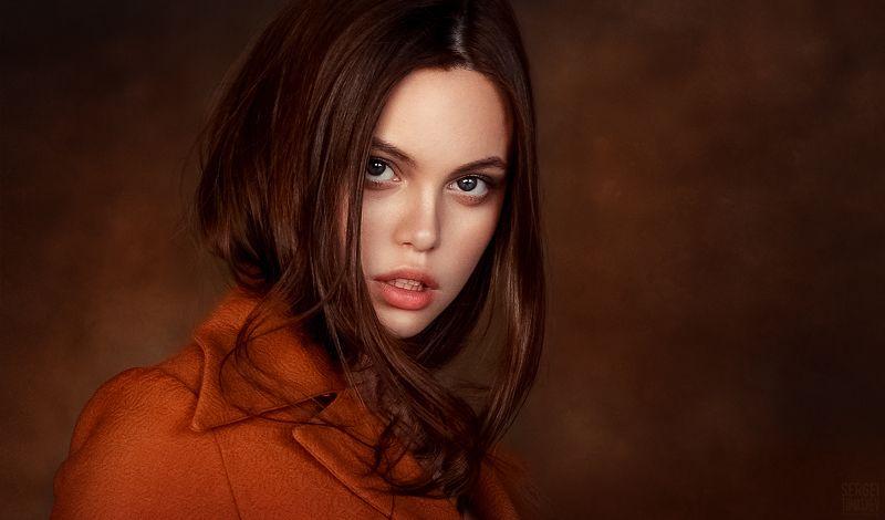 портрет, студия Полинаphoto preview