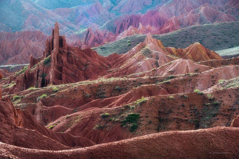 киргизия, пейзаж, сказка, каньон сказка Утро в сказке...photo preview