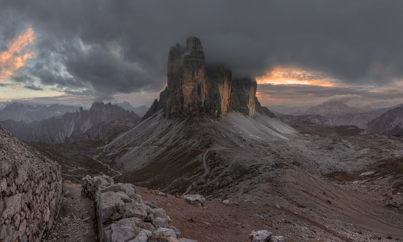 alps, dolomites, italy, доломиты, горы Tre Cimephoto preview