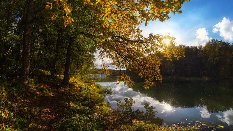 тула, воронка, ясная поляна, осень Была осень на Воронке...photo preview
