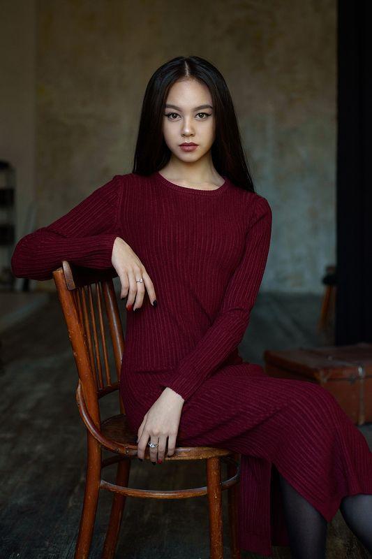 portrait, nikon, портрет, 85mm Майяphoto preview