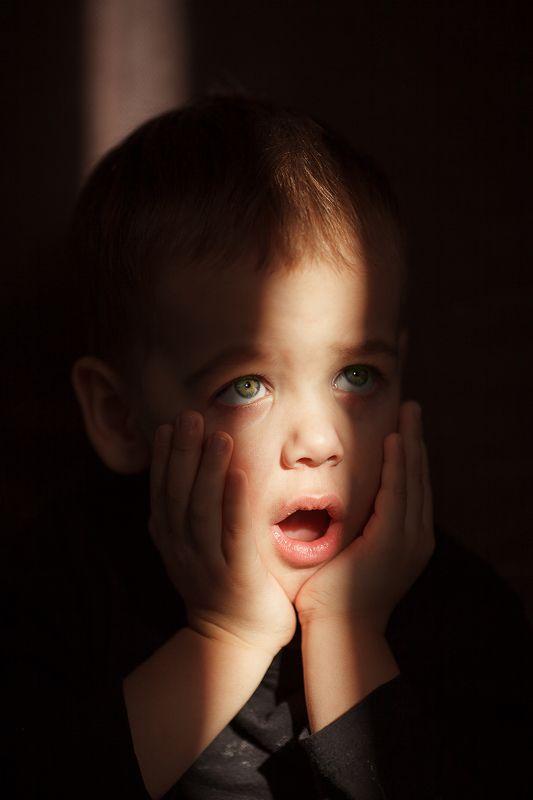 дети удивление  лучик не может быть  photo preview