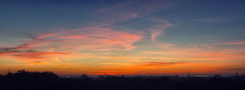 сочи, природа, закат Заревоphoto preview