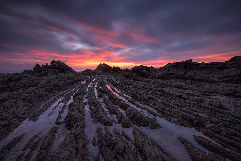 Aljezur, Costa Vicentina, Portugal, Europe, Hugo, Só, hugoSó, NiKon, D810 Vulcanic Sunsetphoto preview