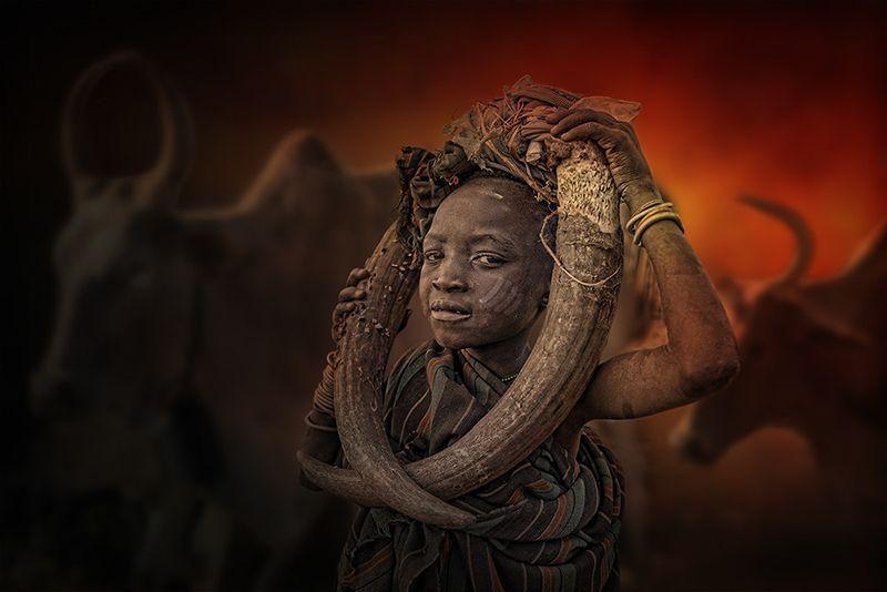 ethiopia, tribe, hamer, boy, arbore, girl, mursi, Boy from Mursi tribe SIYPphoto preview
