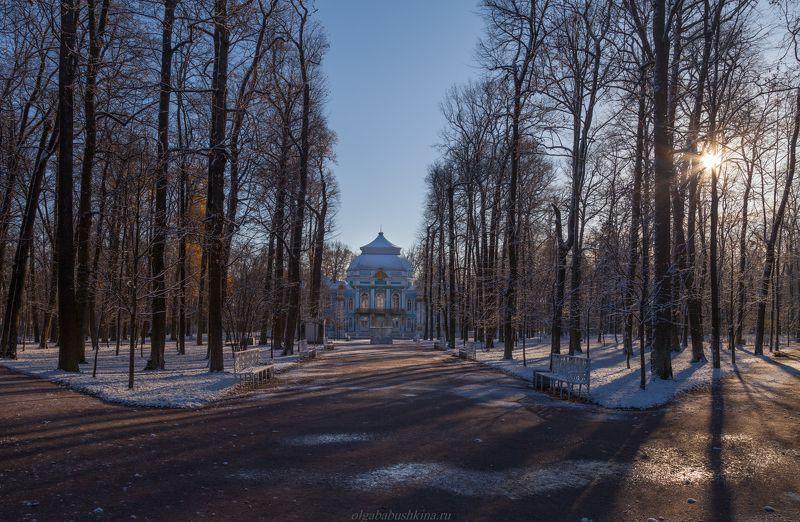 Первый снег в Екатериненском парке, ноябрь 2018photo preview