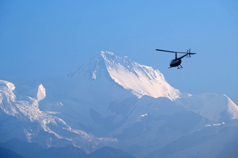 горы, альпинизм, восхождение, аннапурна, гималаи, непал, вертолет, mountains, alpinism, mountaineering, annapurna, himalayas, nepal, helicopter Аннапурнаphoto preview