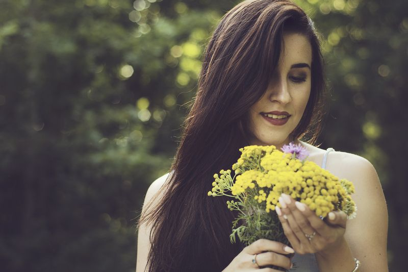 портрет, девушка, модель, лицо, казань, вечер, улыбка Луизаphoto preview