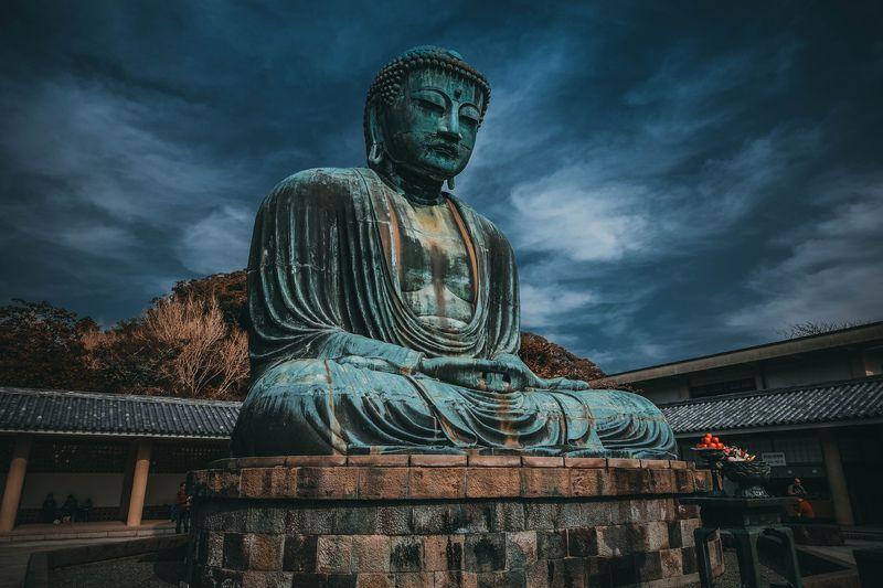 камакура большой будда Камакурский сиделецphoto preview