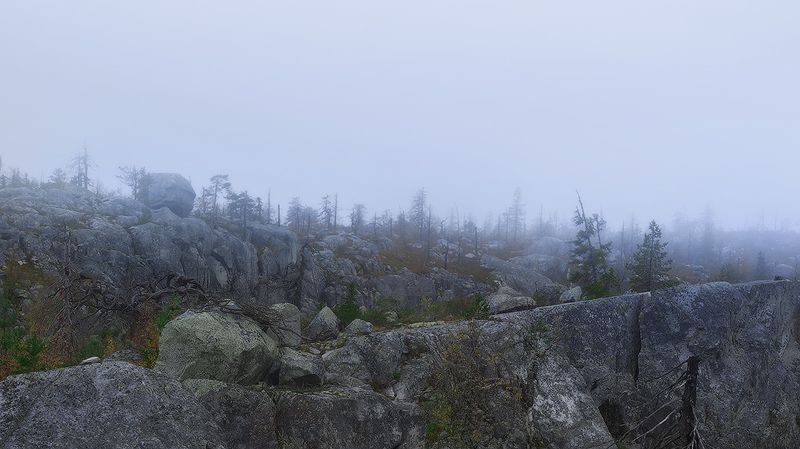 #dervod Вершина горы Воттоваара, республика Карелияphoto preview