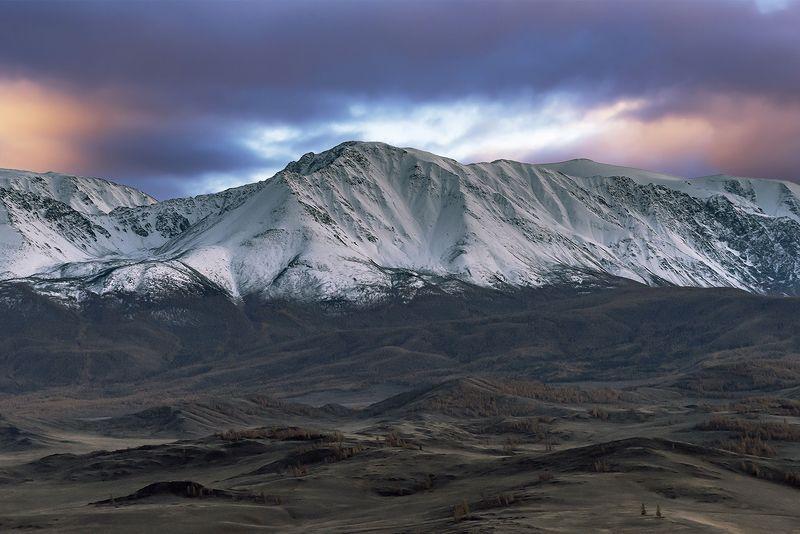 северо-чуйский, осень, горный алтай, Осенний пейзаж...photo preview