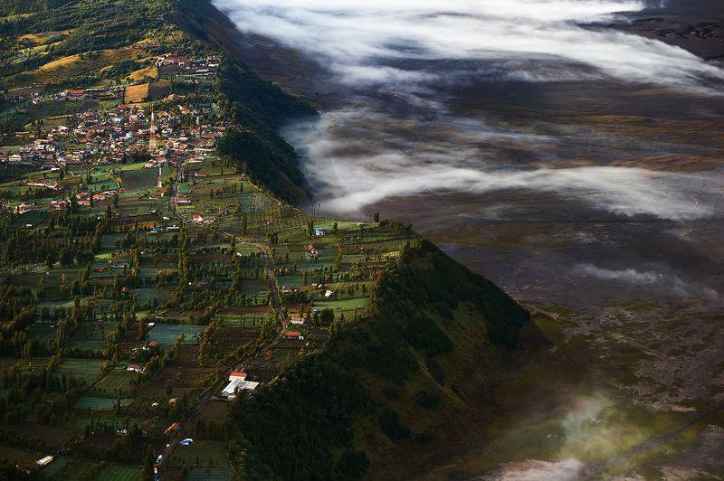 Caldera of Bromo Volcanophoto preview