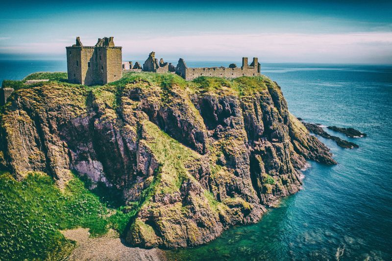 Dunnotar Castle Scotland Dunnotar Castle Scotlandphoto preview