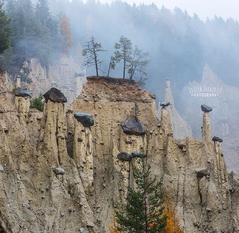 доломиты, dolomites, italy, piramides, земляные, столбы, грибы Три тополя на Плющихеphoto preview