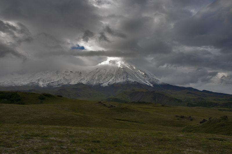 вулкан толбачик камчатка Летний Толбачикphoto preview
