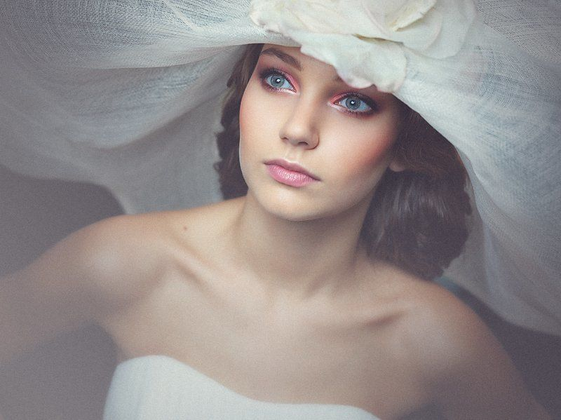 шляпа, девушка, портрет, взгляд Portrait in a Hatphoto preview