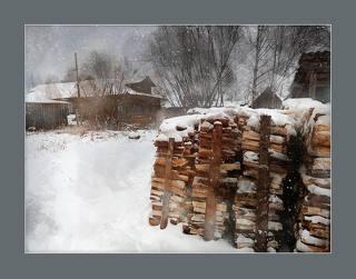 метельно. деревня Курья. Россия 2018