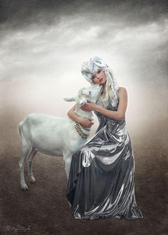 фото в образе, сказка, арт фото Братец Иванушка и сестрица Алёнушкаphoto preview