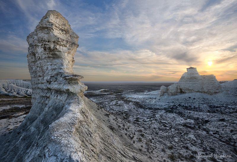казахстан, закат ***photo preview