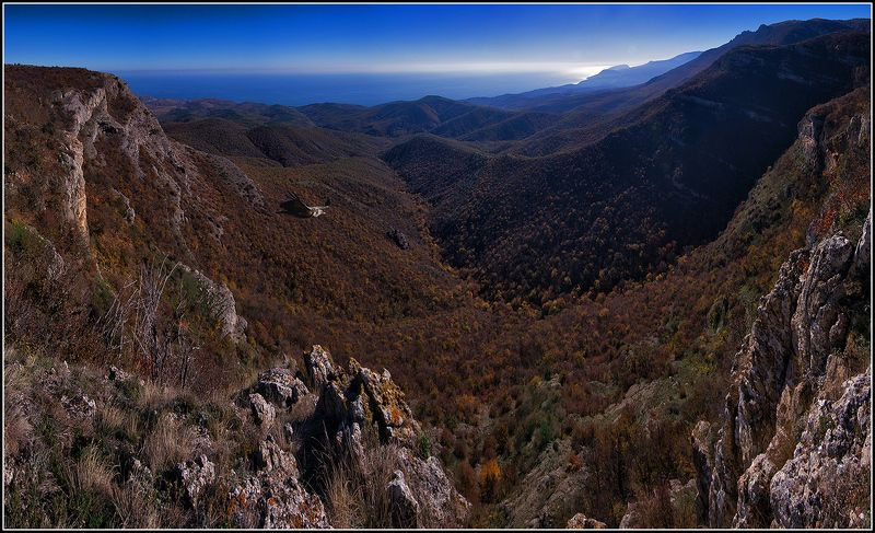 крым, осень, демерджи, море, горы, сип *  *  *photo preview