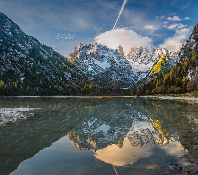 доломиты, dolomites, italy, lago di landro Чистота и симметрия :)photo preview