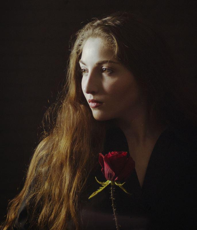 девушка, портрет, настроение,  Margophoto preview