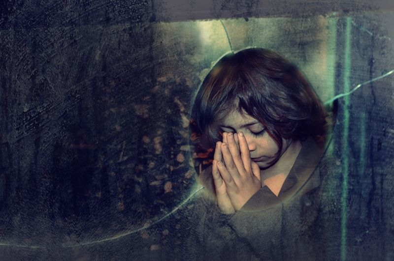 The Prayer, молитва, портрет, мальчик, чувство, portrait, boy, feeling  The Prayerphoto preview