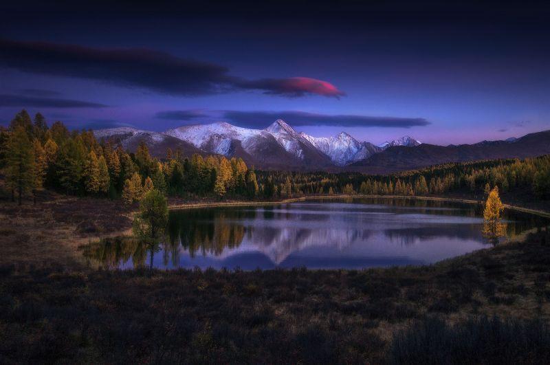 алтай, горы, киделю Вечер на Киделюphoto preview