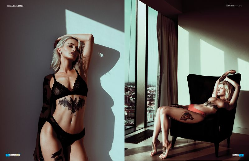 nude girl model body sensual Sinni Suicide 2018photo preview