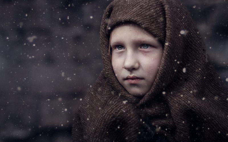 портрет девочка грусть взгляд Aleksandraphoto preview