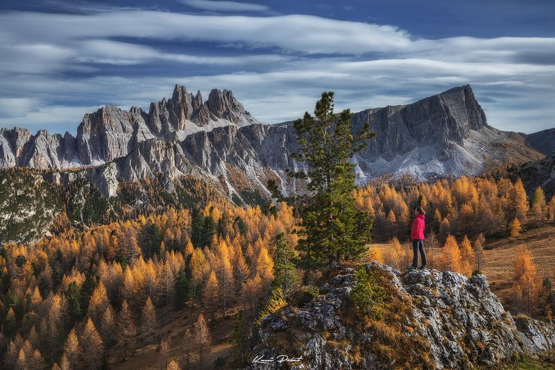 Autumn in Dolomites фото превью