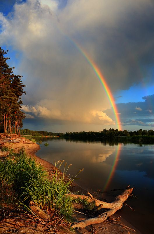 Вечерняя радугаphoto preview